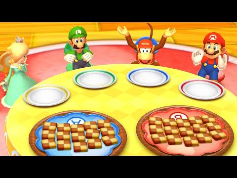Mario Party: Star Rush - All Mini Games