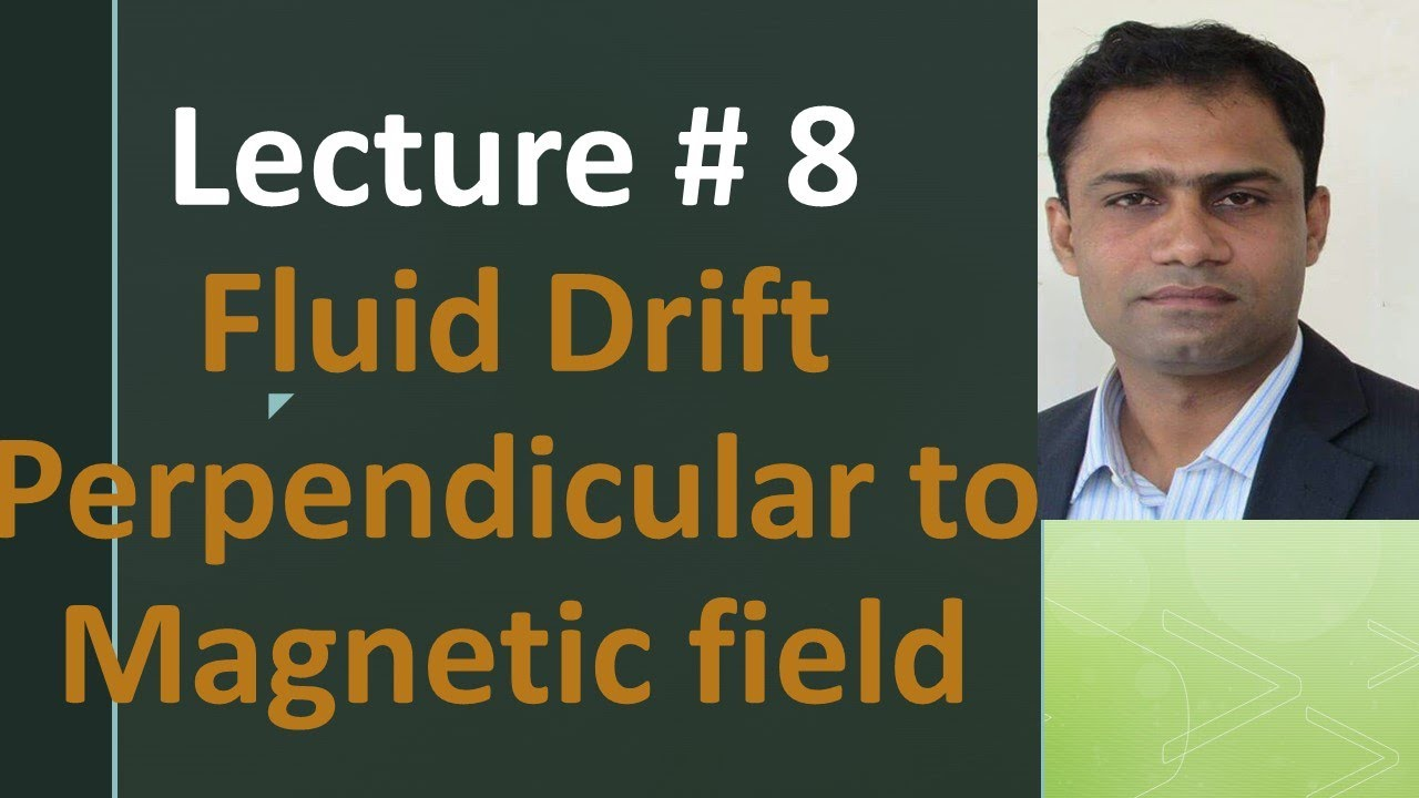 Fluid drift perpendicular to magnetic field | Diamagnetic drift by systematic way to Physics