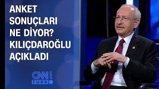 Anket sonuçları ne diyor? Kılıçdaroğlu CNN TÜRK'te açıkladı