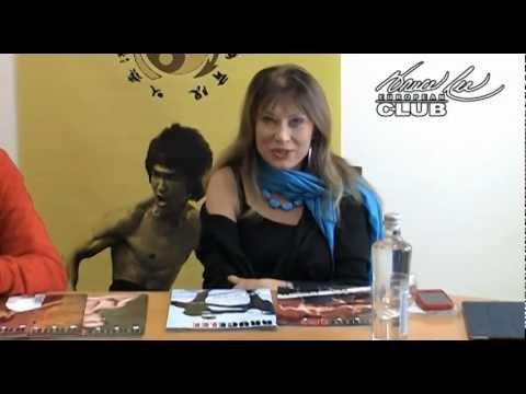 Malisa Longo habla sobre Bruce Lee Manía y manda un saludo al European Bruce Lee Club.