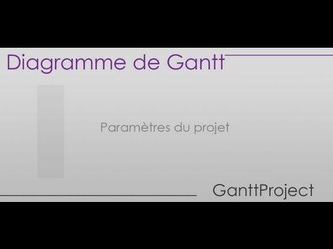 Formation ganttproject partie 1 paramtres du projet youtube formation ganttproject partie 1 paramtres du projet ccuart Gallery