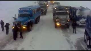 Воркута-карьер(Работа в тяжелых условиях крайнего севера по строительству газопровода., 2012-10-14T17:30:07.000Z)