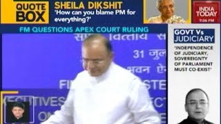 Indian Democracy Cannot Be Tyranny Of The Unelected: Arun Jaitley
