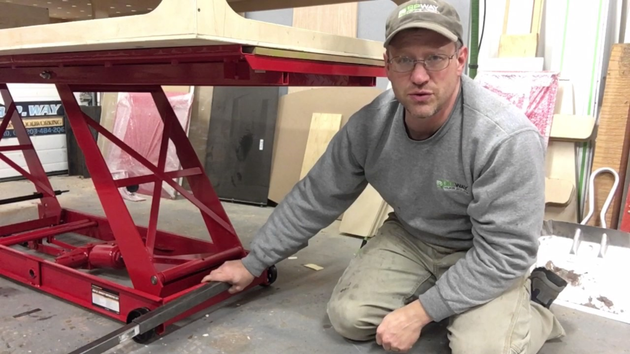 Turn A Harbor Freight Motorcycle Lift Into A Plywood Lift