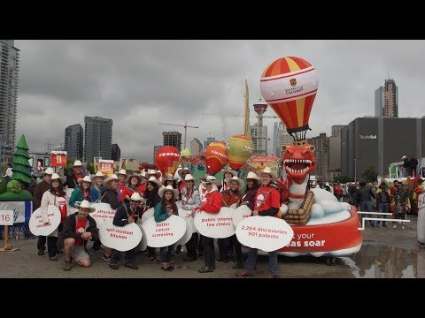 University Of Calgary's New Stampede Float