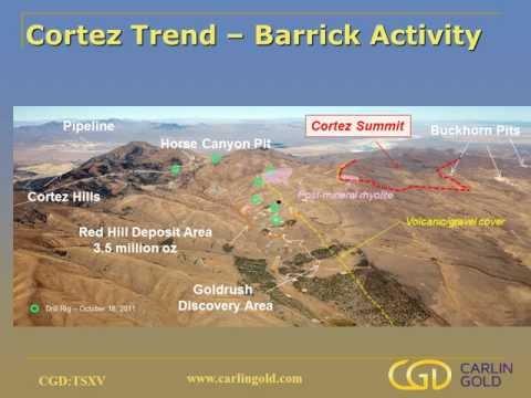 Carlin Gold Corporation's November 2011 Corporate Presentation