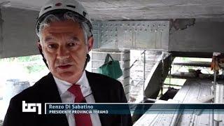L'allarme sui soldi non sufficienti: il Presidente Di Sabatino al TG1 sul ponte di Aprati