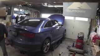 Audi S3 Dinan Exhaust Install DIY