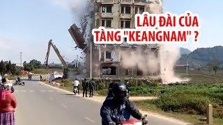 """Thực hư về tai nạn khi phá dỡ lâu đài của Tàng """"Keangnam"""""""