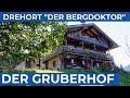 Wo DER BERGDOKTOR wohnt   Drehort GRUBERHOF   Söll   Wilder Kaiser