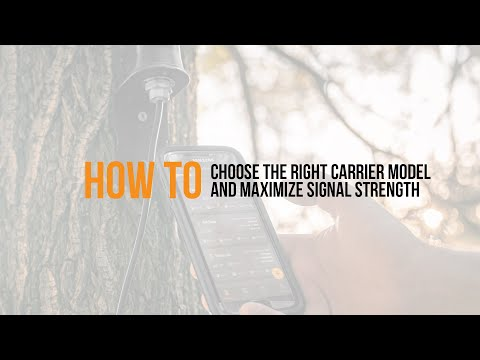 Video: How to choose the right carrier model and maximize signal strength