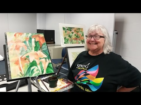Floral Watercolors with Judith Repke