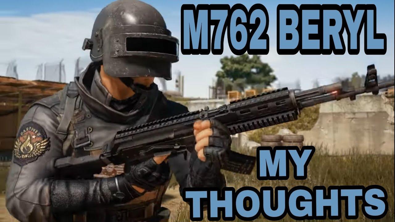 M762 Pubg: M762 BERYL FIRST IMPRESSIONS; PUBG MOBILE NEW GUN