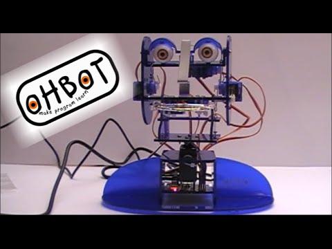 Ohbot: la testa parlante programmabile