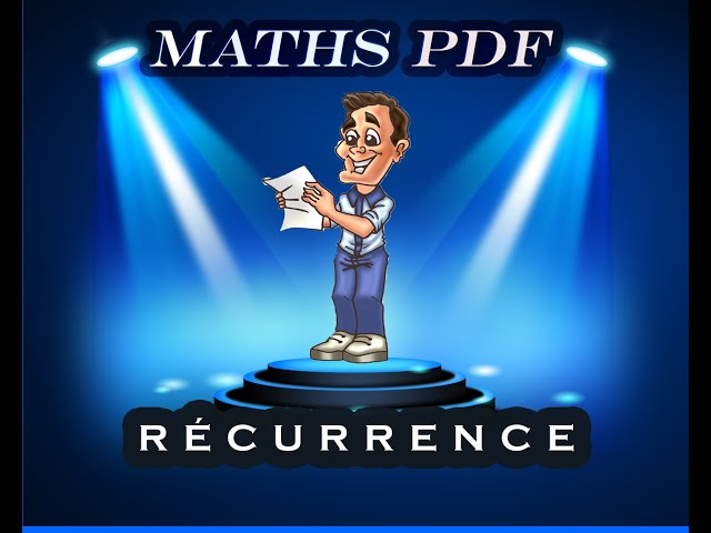 Raisonnement par récurrence en maths en terminale.