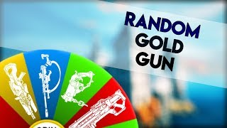 Overwatch - Randomly Selecting a Gold Gun