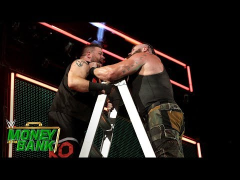 Strowman throws Owens off an enormous ladder: WWE Money in the Bank 2018 (WWE Network Exclusive)