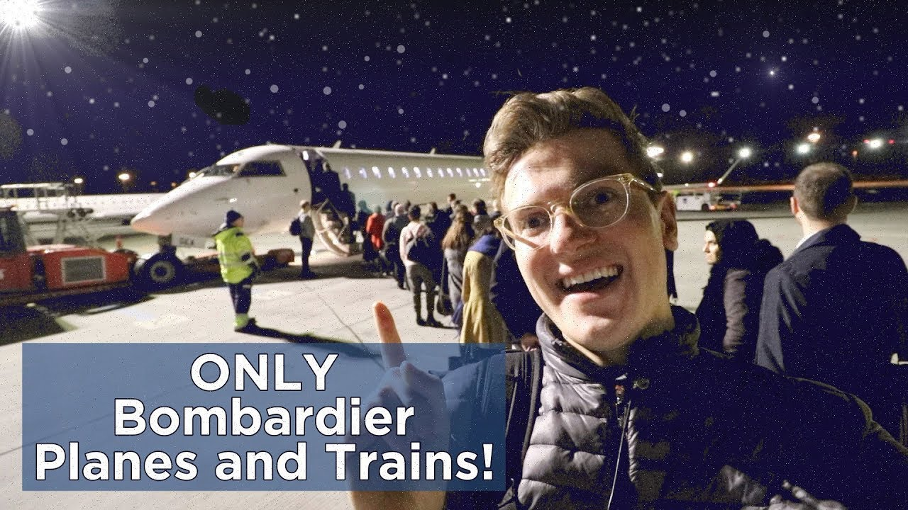 FULL TRIP USING ONLY BOMBARDIER PRODUCTS