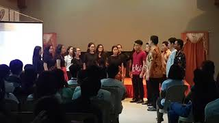 Nusantara Medley - AUP Indonesian Chorale - Stafaband