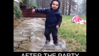 Funny Baby Video(Baby drunk)