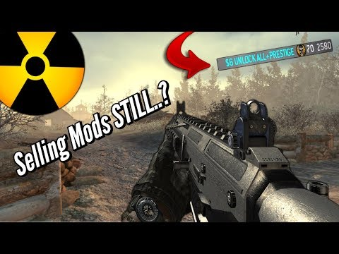 People Are STILL Selling MODS On MW2 Why......