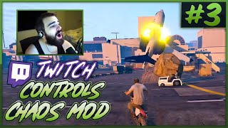 Twitch Controls GTA V Chaos! (Chat Randomly Mods The Game) #3