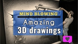 New Amazing 3D drawings