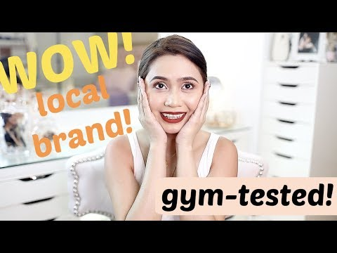 Impressive Local Brand - GYM TESTED! ft. Ellana Mineral Cosmetics | Anna Cay ♥