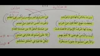 Nahaj albardah (نهج البردة لاحمد شوقي) Syair Stam
