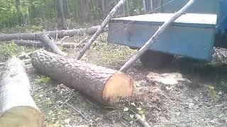 погрузка леса
