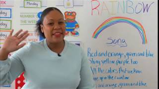 Preschool Rainbow Lesson 1 - Learn at Home