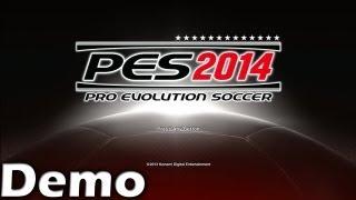 PES 14 Demo GAMEPLAY