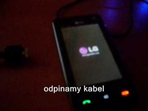 Tworzenie kopii zapasowej softu LG ku990 i Ku990i