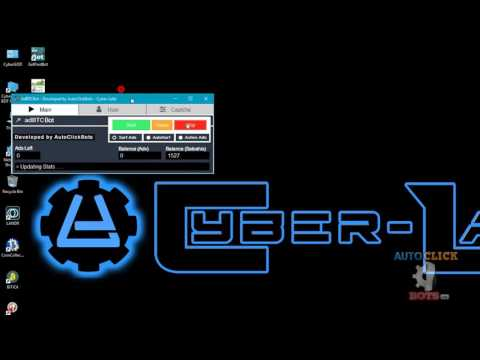 AdBTCBot Demo Video - [Surf/Browse - AutoSurf -  Active Ads]
