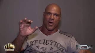 """Kurt Angle - """"Chris Benoit more intense than Brock Lesnar"""""""