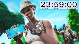 I spent a DAY using RECON EXPERT in Fortnite...