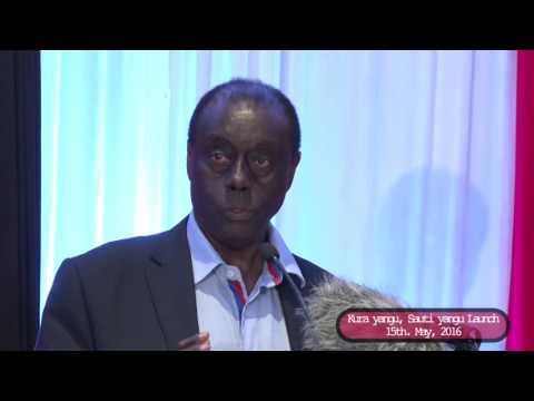 Hon. Paul Muite, Kura Yangu Sauti Yangu Launch