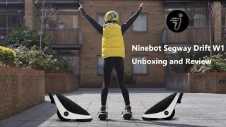 Ninebot Segway Drift W1 Electric Shoes Electric Self-balanced Skate Unboxing and Review