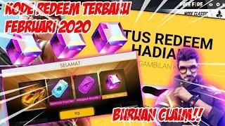 BURUAN CLAIM!! KODE REDEEM ALOK FREE FIRE TERBARU FEBRUARI 2020 - GARENA FREE FIRE INDONESIA