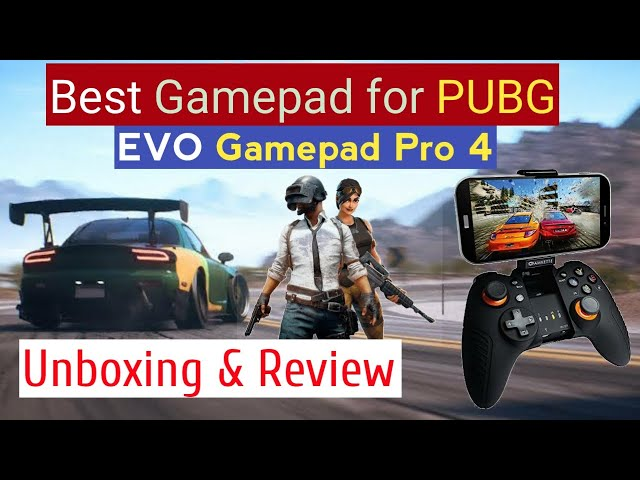 Amkette Evo Gamepad Pro 4 Unboxing, Review, Setup || Best Gamepad for PUBG, COD, NFS at Low Price