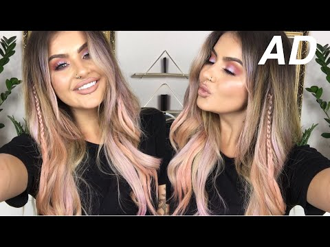 HOW TO GET WASH-OUT UNICORN HAIR | JAMIE GENEVIEVE