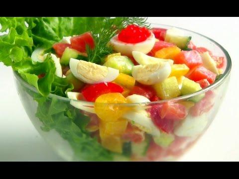 Праздничные салаты с фото mirsalatov