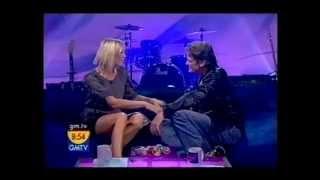 David Hasselhoff - outrageous flirting with Jenni Falconer
