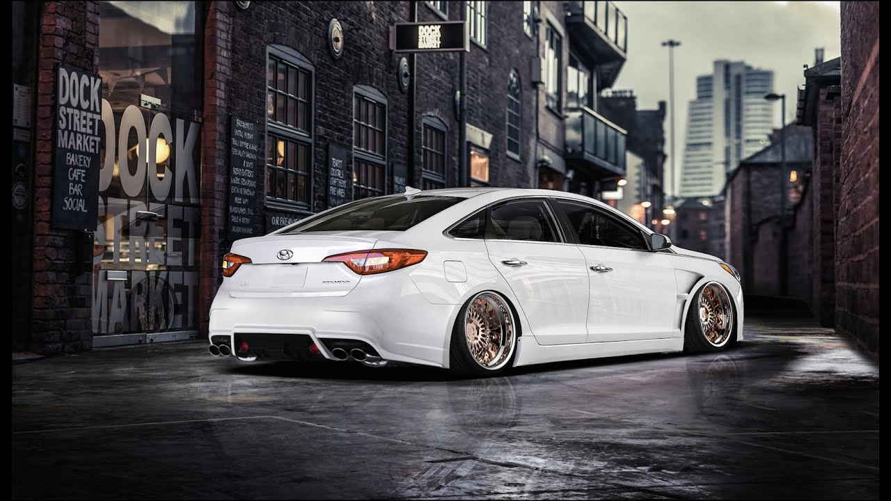 Hyundai Sonata Modified Virtual Tuning Youtube