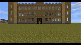 Downton Abbey / Highclere Castle in Minecraft - HD