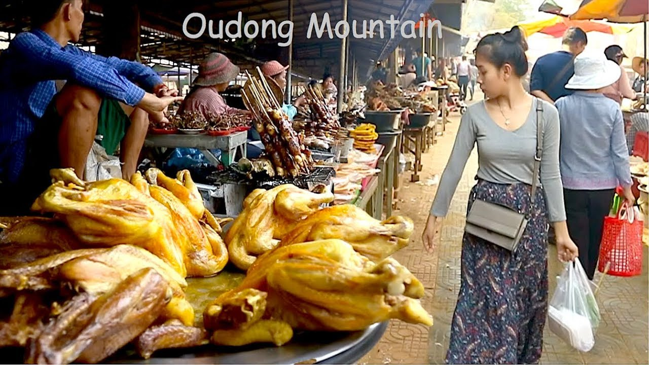 Street Food Tours 2019 at Oudong Hill Side Cambodia