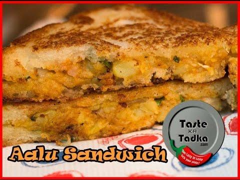 Aalu Sandwich Recipe   Crispy Potato Sandwich Recipe in Hindi [English Subtitles]