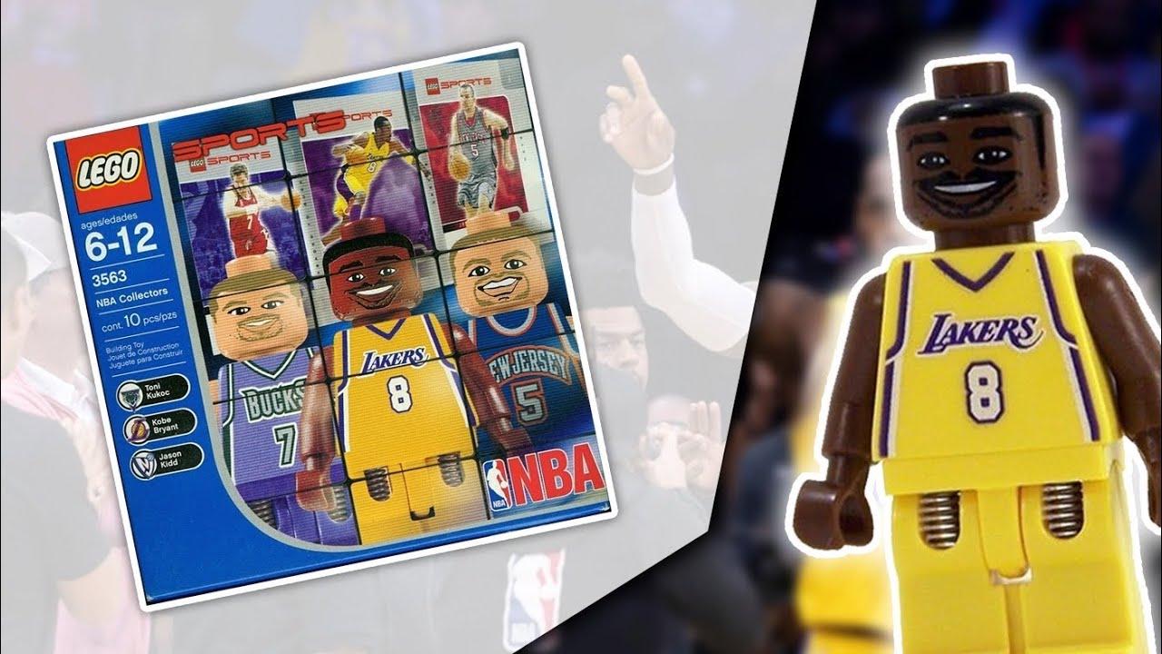Lego Sports Basketball NBA Collectors 4 3563