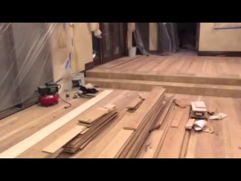 John Teng Reviews The First Phase Of A Wood Floor Installation