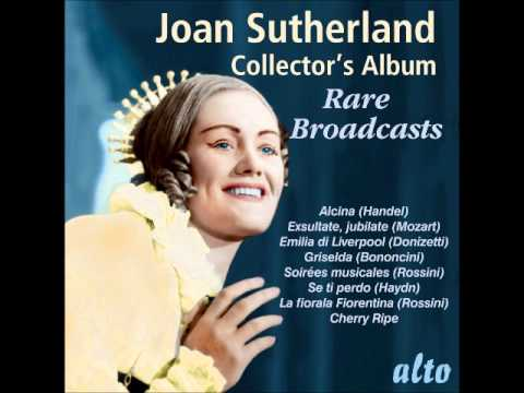 Joan Sutherland Rare Broadcasts - Mozart: Exsultate, jubilate: Alleluia (closing section)